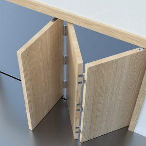 Sistem dan Komponen Pintu Lipat